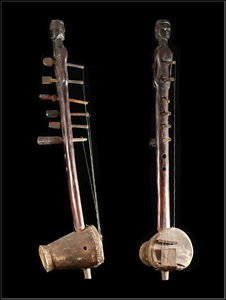 Arts Africains - harpe luth kora - Luth