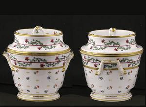 J.m. Bealu & Fils - glaci�res en porcelaine de paris - Glaci�re