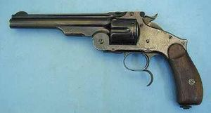 Pierre Rolly Armes Anciennes - smith & wesson n°3 - Pistolet Et Révolver