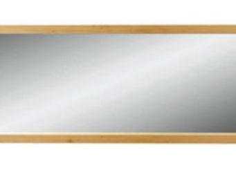 ZAGO - miroir côme en chêne massif 195x6x65cm - Miroir