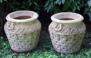 BARBARA ISRAEL GARDEN ANTIQUES - cotswold pots - Vase D'anduze