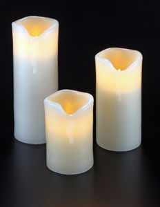 SMART CANDLE FRANCE - bougies à led rechargeables en cire véritable - Bougie Led
