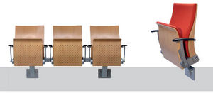 Ferco Seating Systems - arc wood - Siège Assis Debout