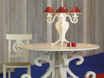 Luc Perron Creation -  - Table De Repas Ronde
