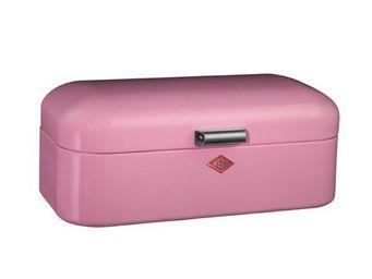 Wesco - boite à pain grandy rétro rose - Huche À Pain