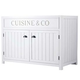 Cuisine l ment bas 120 newport meuble de cuisine bas - Maison du monde boite de rangement ...
