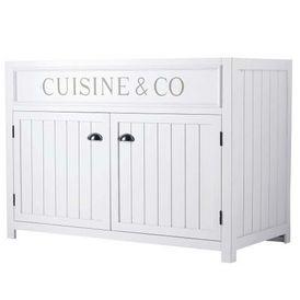 Cuisine l ment bas 120 newport meuble de cuisine bas - Maison du monde meuble cuisine ...