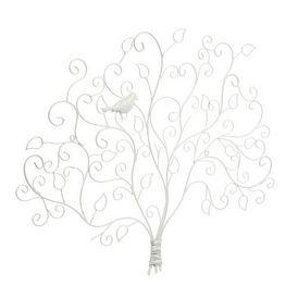 Pince photo arbre oiseau blanc porte photo maisons du - Porte photo maison du monde ...