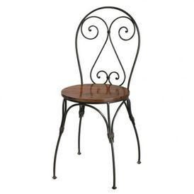 chaise coeur lub ron chaise maisons du monde. Black Bedroom Furniture Sets. Home Design Ideas