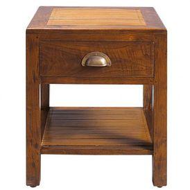 Chevet bamboo table de chevet maisons du monde - Table industrielle maison du monde ...