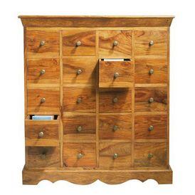 Meuble cd dvd pondich ry meuble tiroirs maisons du monde for Muebles maison du monde