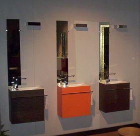Reverse meuble lave mains corian ellebi decofinder - Meuble lave main design ...