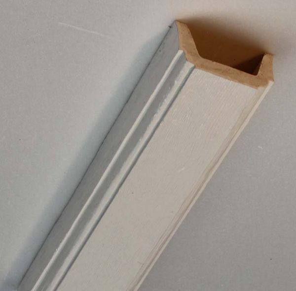 Nt 06 blanche en fausse poutre polyurethane nevadeco - Polyurethane ou polystyrene ...
