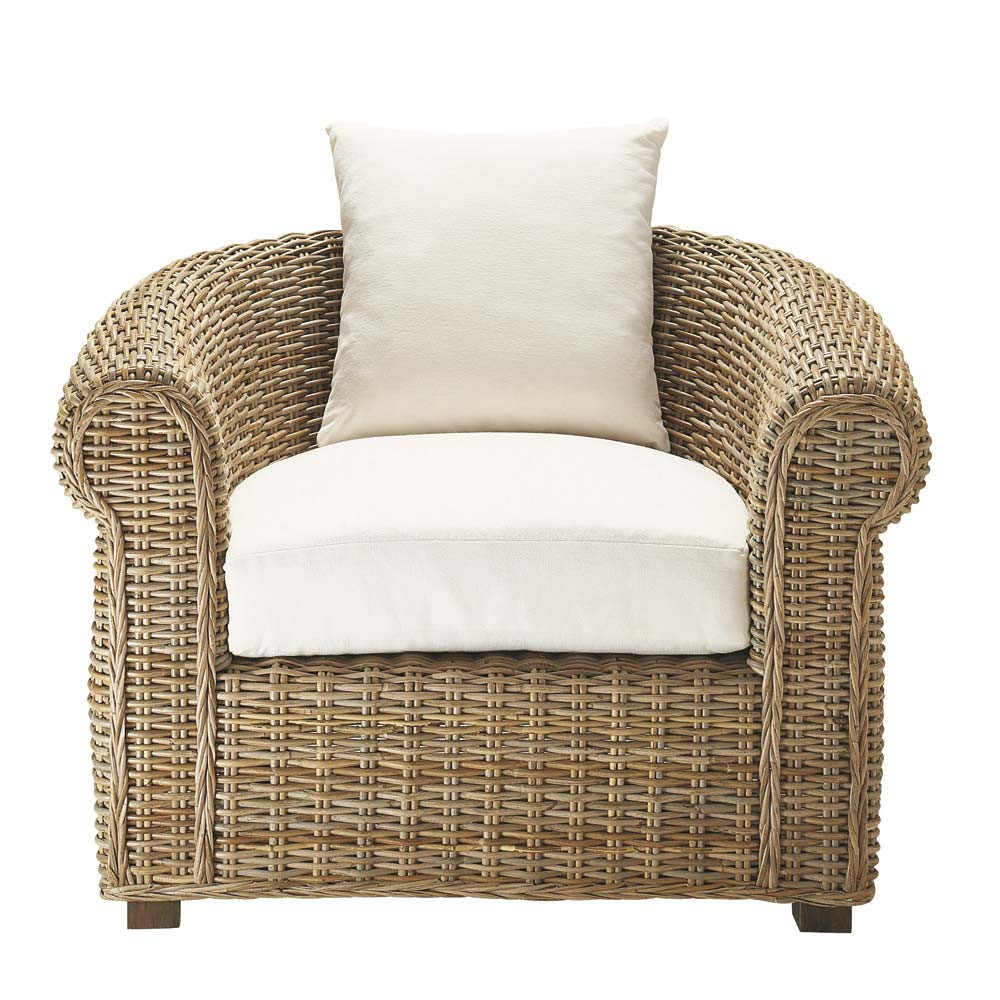 Maxim fauteuil de jardin maisons du monde for Maison du monde exterieur