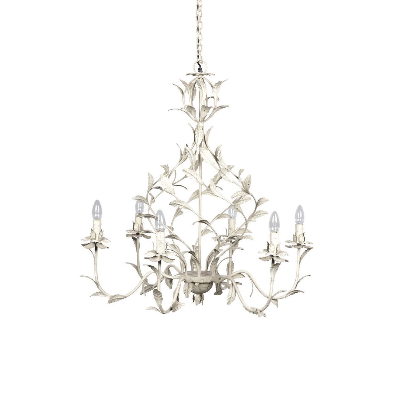 mira pm lustre blanc d 39 ivoire decofinder. Black Bedroom Furniture Sets. Home Design Ideas