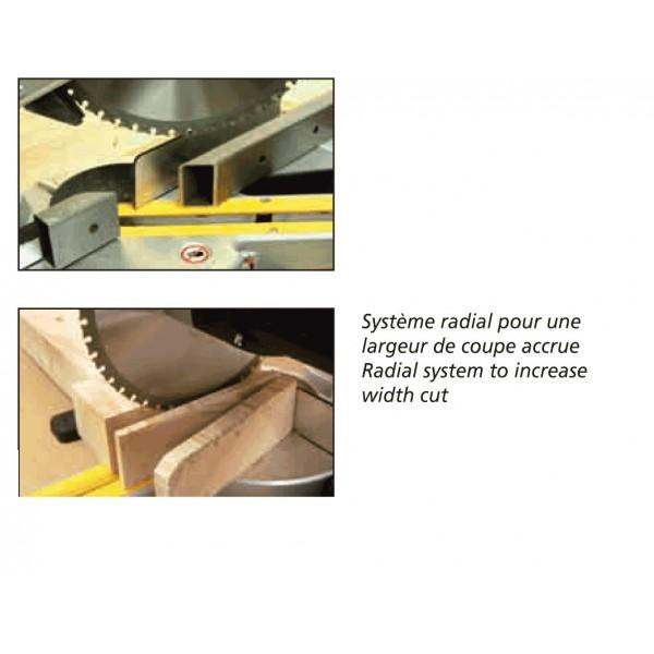 scie onglet radiale bois et m tal 2100 watts far scie. Black Bedroom Furniture Sets. Home Design Ideas