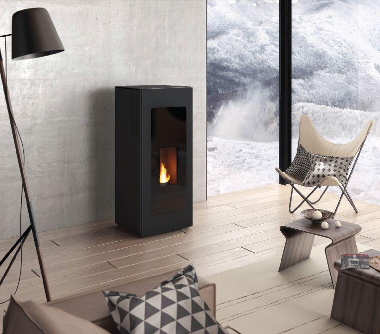 pf 730 po le granul s pellets noir jotul. Black Bedroom Furniture Sets. Home Design Ideas