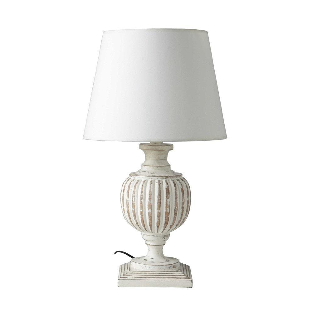 beaumont lampe poser maisons du monde decofinder. Black Bedroom Furniture Sets. Home Design Ideas