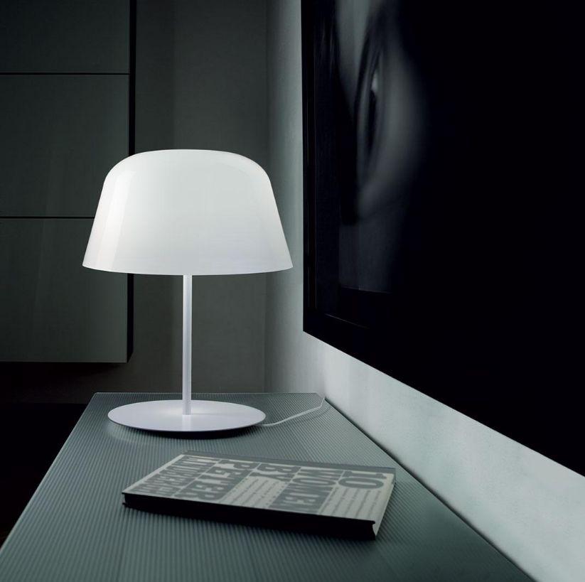 0onwpk Lampe Italy À Ayers Poser Murano Blanc De Verre Dream Design NnOPw0k8X