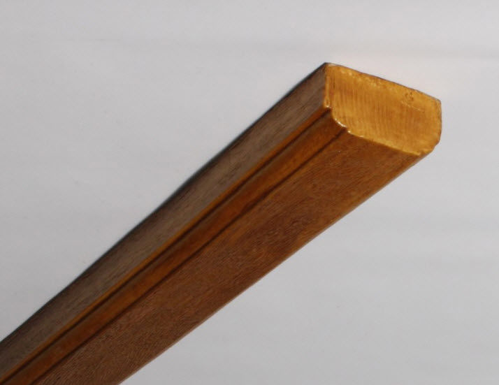 pm 12 planche colombage en fausse poutre polyurethane nevadeco. Black Bedroom Furniture Sets. Home Design Ideas