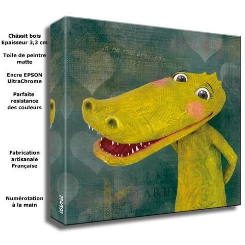 DECOHO - Tableau décoratif enfant-DECOHO-Le crocodile