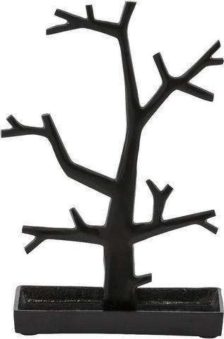 KOKOON DESIGN - Porte-bijoux-KOKOON DESIGN-Porte-bijoux design tree en aluminium noir 22x11x3