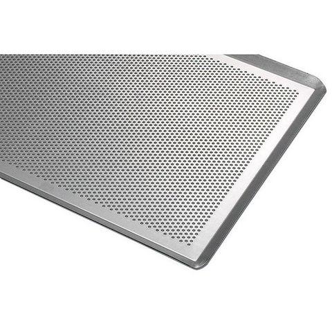 Matfer - Table de cuisson à gaz-Matfer-Plaque de cuisson perforée aluminium 40x30c