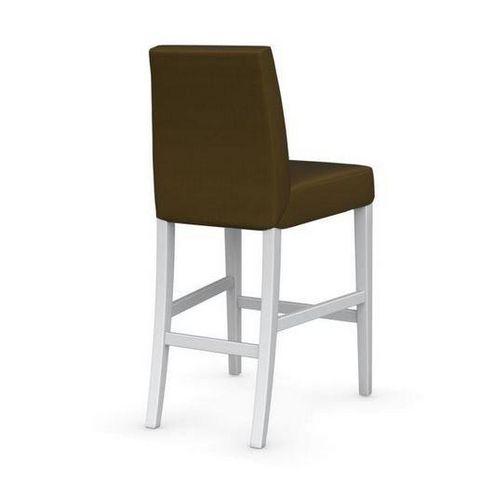 Calligaris - Chaise haute de bar-Calligaris-Chaise de bar LATINA de CALLIGARIS vert olive et h