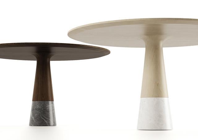 ENNE - Table de repas ovale-ENNE