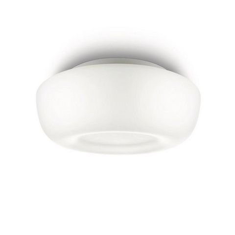 Philips - Plafonnier de salle de bains-Philips-Plafonnier en verre Calm L26 cm IP44