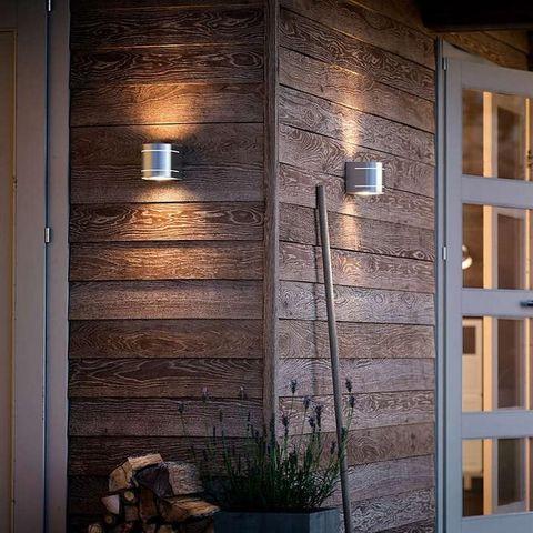 Philips - Applique d'extérieur-Philips-Applique arrondie extérieur Sunset LED IP44 H13 cm