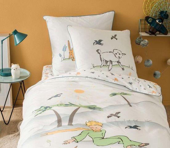 BLANC CERISE - Parure de lit enfant-BLANC CERISE-Petit Prince