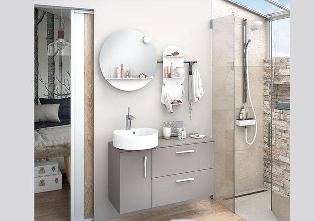 Delpha - Meuble de salle de bains-Delpha---Ilot--