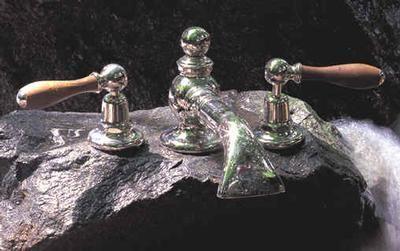 Volevatch - Mélangeur bain 3 trous-Volevatch-Mélangeur carpe