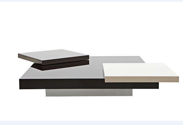 ROCHE BOBOIS - Table basse rectangulaire-ROCHE BOBOIS-Podium