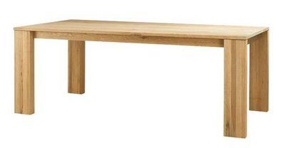 MEUBLES ZAGO - Table de repas rectangulaire-MEUBLES ZAGO-Table chêne 200cm Côme