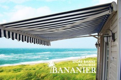 UsiRama.com - Store banne-UsiRama.com-Store Extérieur Monobloc Motorisé BANANIER 3X2m