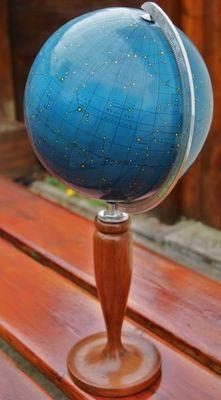 La Timonerie Antiquit�s marine - Globe terrestre-La Timonerie Antiquit�s marine
