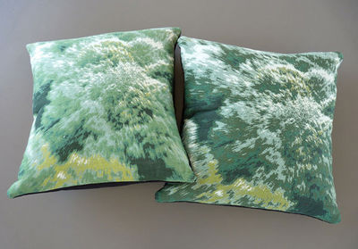 NEOLICE - Coussin carr�-NEOLICE-Verdure
