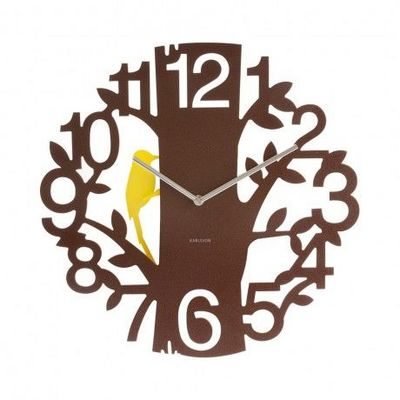 Karlsson Clocks - Horloge murale-Karlsson Clocks-Karlsson - Horloge Woodpecker Ø? 42 cm - Karlsson