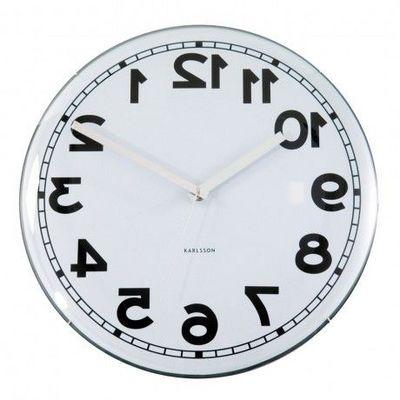Karlsson Clocks - Horloge de cuisine-Karlsson Clocks-Karlsson - Horloge Dome Backwards - Karlsson -