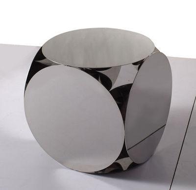 Sodezign - Bout de canapé-Sodezign-Table Design Acier 50 cm x 50 cm