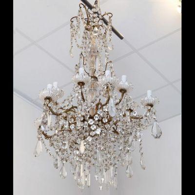 Expertissim - Lustre-Expertissim-BACCARAT. Lustre en cristal de style Louis XVI