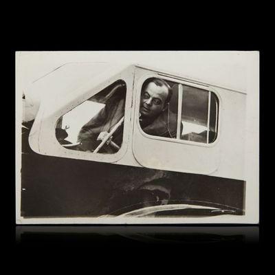 Expertissim - Photographie-Expertissim-SAINT-EXUPERY de Antoine (1900-1944) dans la carli