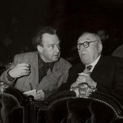 Expertissim - Photographie-Expertissim-CLAUDEL Paul (1868-1955) et HONEGGER Arthur (1892-