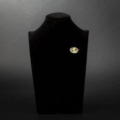 Expertissim - Broche-Expertissim-Broche en or, diamants et émail. Art Nouveau