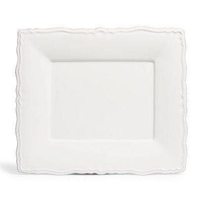 Maisons du monde - Assiette plate-Maisons du monde-Assiette plate Marquise blanche