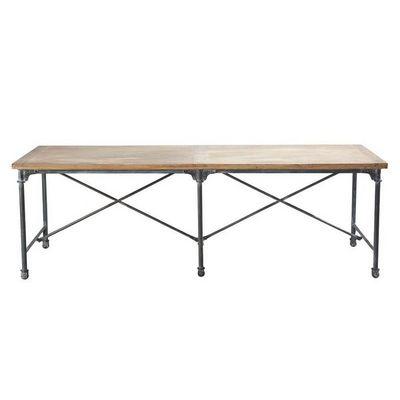 MAISONS DU MONDE - Table de repas rectangulaire-MAISONS DU MONDE-Archibald