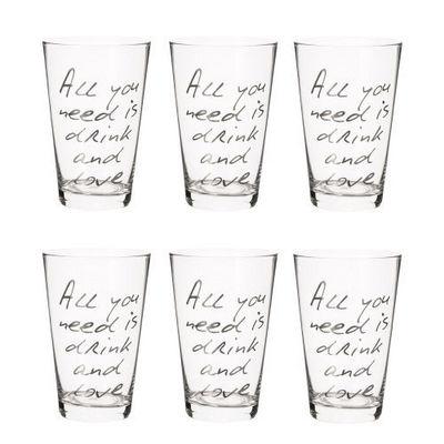 Maisons du monde - Verre-Maisons du monde-Coffret 6 verres All you need