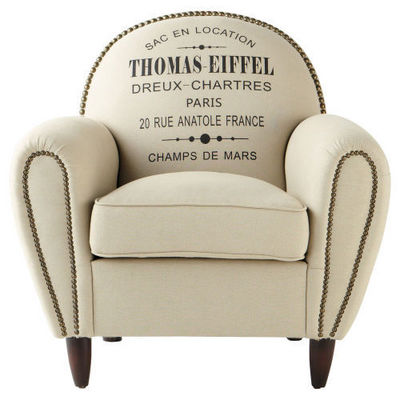 Maisons du monde - Fauteuil-Maisons du monde-Fauteuil Gustave